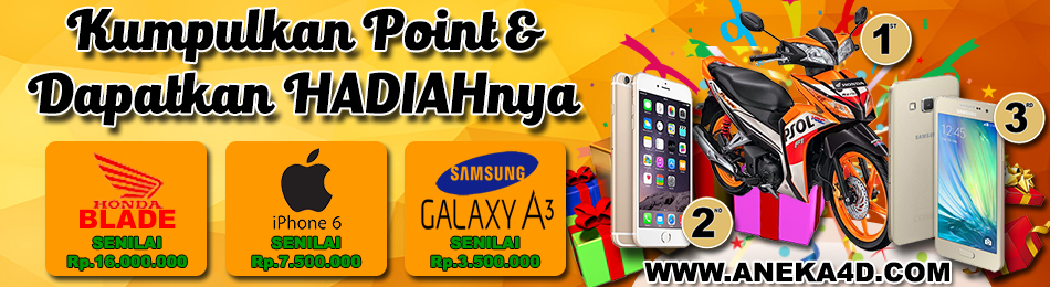 Aneka4D - Point Reward